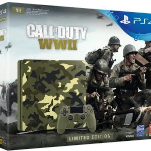 Sony - Playstation 4 slim 1TB camo edition - Call of Duty:WWII